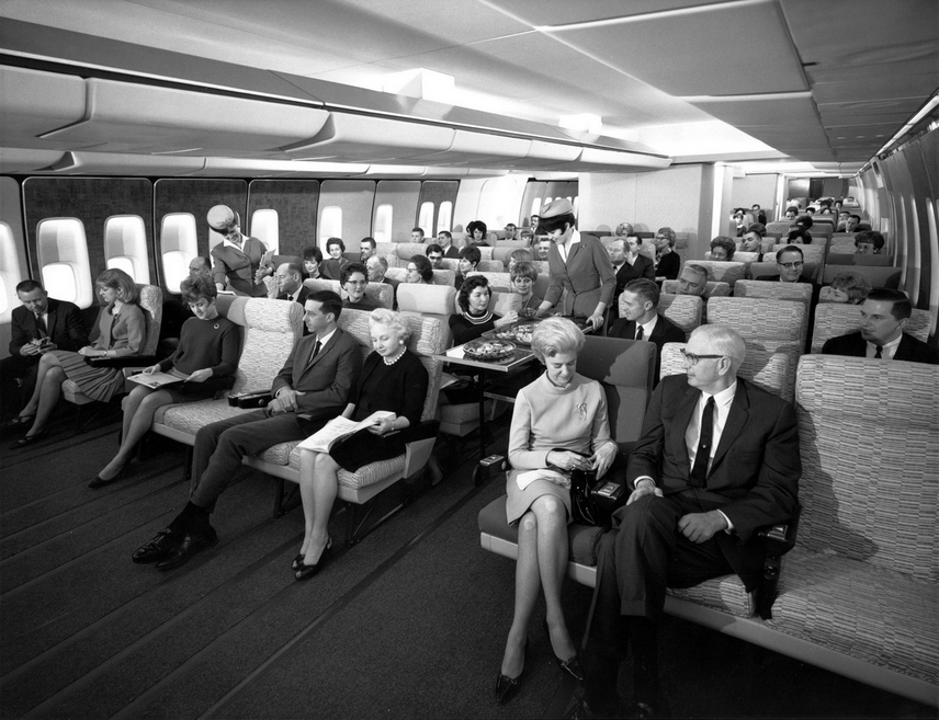 747 pan am economie fin annees 60 - Photo Boeing