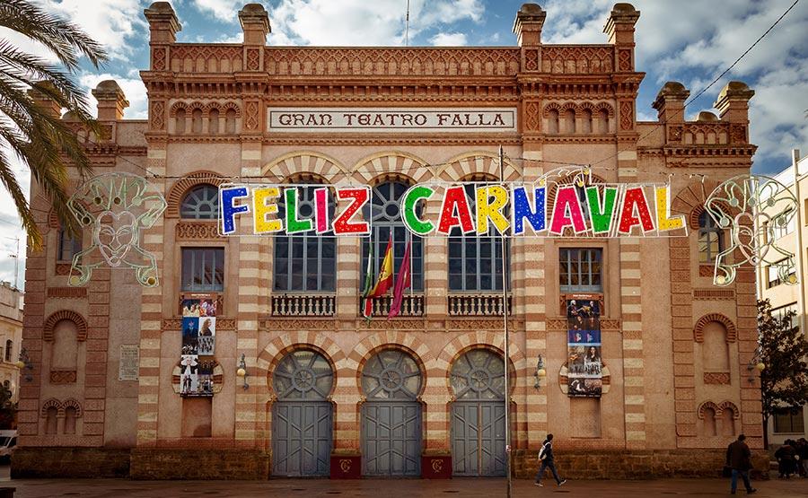 Gran Teatro Falla - Carnaval de Cadix - Photo Didier Laget
