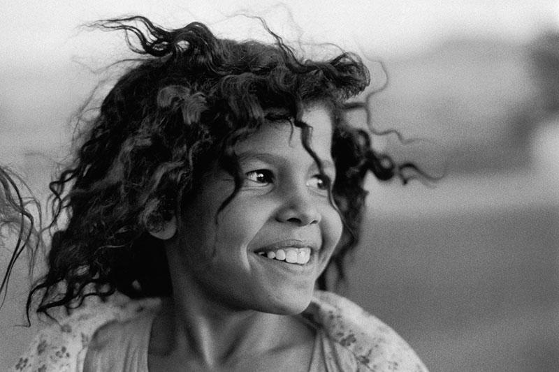 Sabine Weiss :  La Petite Egyptienne - 1983
