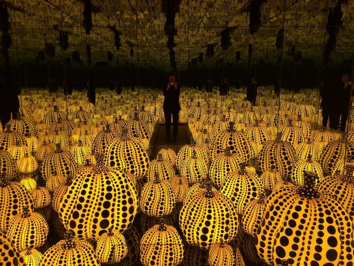 Yayoi-Kusama-pumpkins - Photo Yayoi Kusama