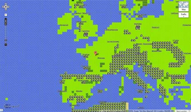 googlemap copyright Google