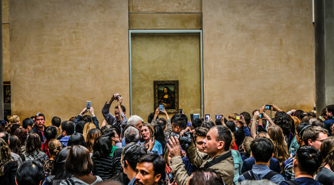 selfie-avec-mona-lisa Photo-Photo Jeff Haltrecht
